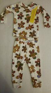 NWT Gap Baby x Marvel Comics Superhero Gingerbread Men 2 pc. Pajama Set sz 6-12m
