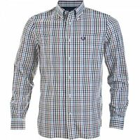 Fred Perry Men's Bold Gingham Long Sleeve Shirt M8266-100