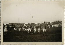 PHOTO ANCIENNE - VINTAGE SNAPSHOT - SPORT RUGBY MATCH DIJON MONTCHANIN 1934