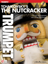 "Tchaikovsky's The Nutcracker-PLAY-ALONG FOR ""TRUMPET"" MUSIC BOOK/CD-NEW-ON SALE!"