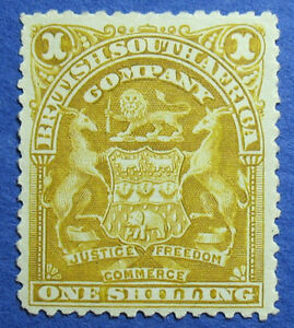 1898 RHODESIA 1S SCOTT# 66 S.G.# 84 UNUSED                               CS09695