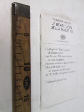 ROBERTA DAPUNT LE BEATITUDINI DELLA MALATTIA EINAUDI POESIA VAL BADIA SC129