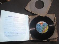 "Rare 8"" Record KidKord Album A   33 Nursery Rhymes 6 x 8"" 78rpm Record Set"