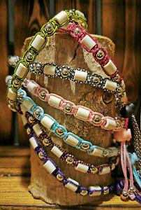 EM-Keramik Zeckenhalsband, Schmuckhalsband, Hundehalsband nach Maß, mit Namen