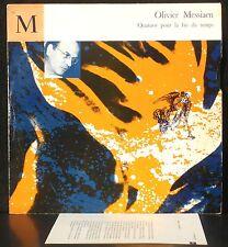 Messiaen Quatuor pour la fin du temps Messiaen J. & E. Pasquier Vacellier