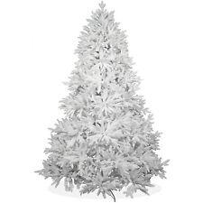 Künstlicher Weihnachtsbaum 240cm DeLuxe Nordmanntanne Spritzguss Tanne weiß;PW15