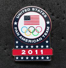 2011Guadalajara Pan Am Olympic Games Limited USA NOC delegation team pin