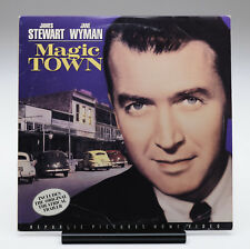 MAGIC TOWN LD James Stewart Jane Wyman Wallace Ford William Wellman
