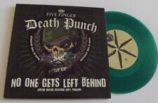 "FIVE FINGER DEATH PUNCH NO ONE GETS LEFT BEHIND 7"" GREEN VINYL NUMBERED"
