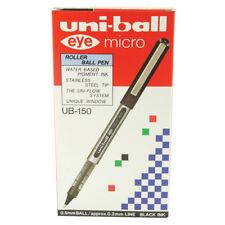uni-ball Eye Micro Rollerball Pen 0.2mm Line Black Ub150 9000500