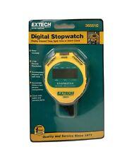 Extech Instruments Digital Water Resistant Stopwatch 365510 New Unopened