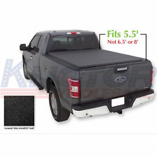 JDMSPEED Roll Up Soft Tonneau Cover 5.5 FT Short Bed For Ford F-150 2004-2018