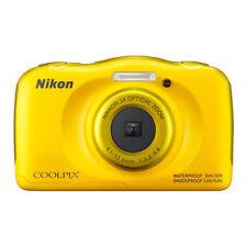 Camara Nikon Coolpix W100 amarilla mochila