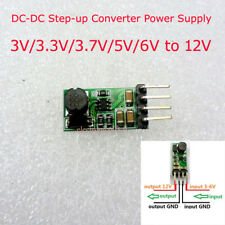 Mini 3V/3.3V/3.7V/5V/6V to 12V DC-DC Boost Step-up Converter Power Supply Module