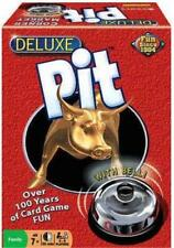 Deluxe Pit Corner the Market Stock Family Fun Winning Moves Card Game w/ Bell