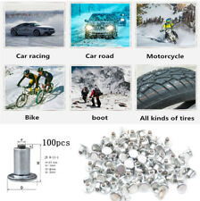 100Pcs Car Truck ATV Tires Studs Screw Anti-skid Non-slip JX8-11-1 for Winter