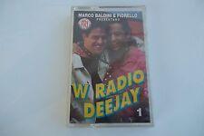 """MUSICASSETTA  MARCO BALDINI E FIORELLO  PRESENTANO""""W RADIO DEE JAY 1"""""""