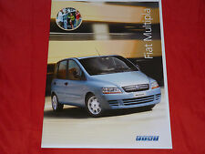 FIAT MULTIPLA Active + Dynamic prospetto di 2004