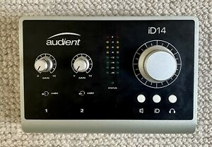 Audient ID14 10 in 4 out USB Audio Interface With Scroll Control ADAT MK1