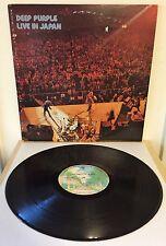 Deep Purple ~ Live In Japan ~ Japan 1974 Gatefold 2LP w/insert NM/NM