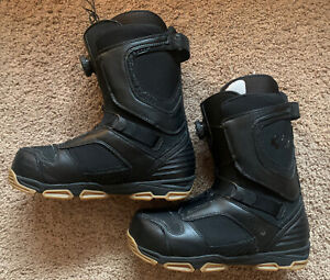 thirtytwo Lock Boa Snowboard Boots Black / Gum Sole Size 10.5 US (32 Thirty-two)