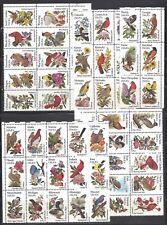 US Scott # 1953-A - 2002-A /1982 State Birds & Flowers Mint Set of Singles MNH
