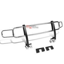 FOR 06-10 HUMMER H3/H3T OE STYLE CHROME FRONT BUMPER BRUSH GRILLE GUARD FRAME