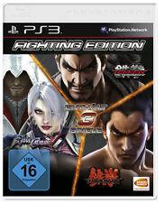 PS3 Playstation 3 Fighting Edition Tekken Tag Tournament 2 + 6 +Soul Calibur V 5