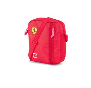 Puma Scuderia Ferrari Fanwear Logo Portable Unisex Flight Travel Shoulder Bag