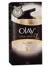 New 1x Pack Olay Total Effects 7in1 Day Cream,Normal With SPF 15,Anti-Aging,50g