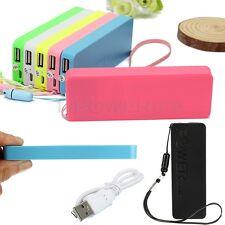 Ultrathin 5600mAh External Portable Power Bank USB Battery Charger For Phones