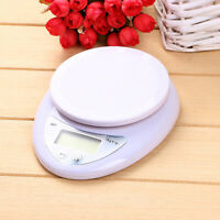 FP- LCD Digital Kitchen Scale with Bowl 5kg Electronic Weight Diet Food Balance