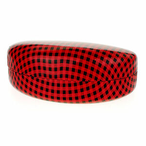 Checker Pattern Hard Case for Sunglasses & Glasses Protective Case