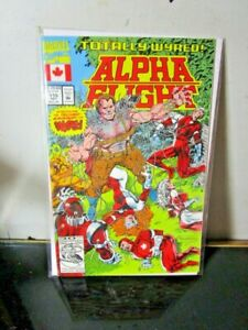Alpha Flight #115 (Dec 1992, Marvel) BAGGED BOARDED