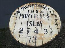 Port Ellen 1982 cask end Fassdeckel Islay Single Malt Scotch Whisky