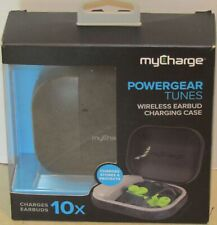 MyCharge PowerGear Tunes Wireless Earbud Charging Case PGT10K-A