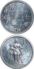 FRANZÖSISCH OZEANIEN/FRENCH OCEANIA/ETABLISSEMENTS OCEANIE 50 Centimes 1949 UNC