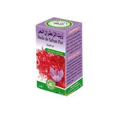Huile de Safran Pur 100% Pure et Naturelle 30 ml Saffron Oil, Aceite de Azafrán