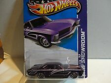 2013 Hot Wheels #238 Super Treasure Hunt Purple '64 Buick Riviera w/Real Riders