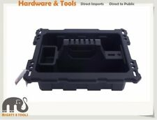 Kendo 90264 Plastic PVC Compartment Tray w Handle for Systainer 44.3x33.4x10cm