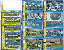 15 SCHEDE TELEFONICHE PASSIONE MONDIALE, DALLA PRIMA ITALIA A COREA DEL SUD 2002