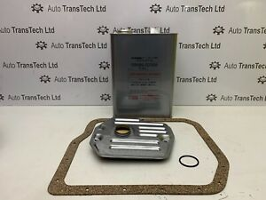 genuine lexus es250 es300 automatic gearbox atf oil 4L filter gasket kit