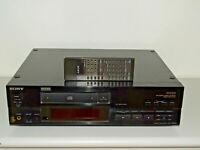 Sony CDP-X555ES High-End CD-Player Schwarz Laser 1A, 2 Jahre Garantie