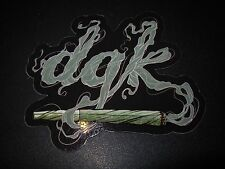 DGK Logo Skate Sticker SPLIFF dirty ghetto kids skateboards helmets decal