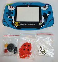 Replacement Housing for Nintendo GBA Game Boy Advance Shell Pokemon