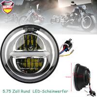 """5.75"""" 50W LED Projektion Scheinwerfer Hi/Low Beam für Harley"""