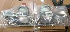 2007 2008 2009 Set Oem New Lexus LS460 LS600H Rear Exhaust Tips Bumper 07 08 09