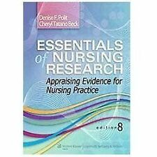 """GOOD COND"" ESSENTIALS OF NURSING RESEARCH 8TH US EDITION (2013) POLIT BECK"