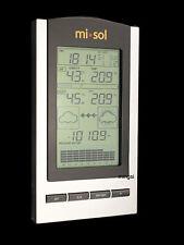 Estación meteorológica inalámbrica Outdoor Temperature humidity sensor Barometer
