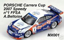 Porsche 911 997 GT3 Cup 07 Speedy Beltoise 1/43 SPARK